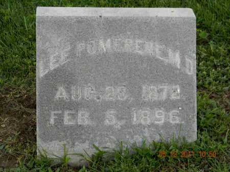POMERENE M.D., LEE - Holmes County, Ohio | LEE POMERENE M.D. - Ohio Gravestone Photos