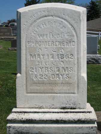 POMERENE, SARAHETTA N. - Holmes County, Ohio | SARAHETTA N. POMERENE - Ohio Gravestone Photos