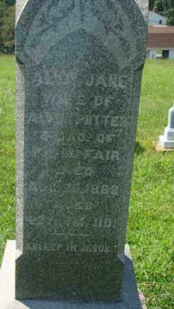 FAIR POTTER, ALICY - Holmes County, Ohio | ALICY FAIR POTTER - Ohio Gravestone Photos