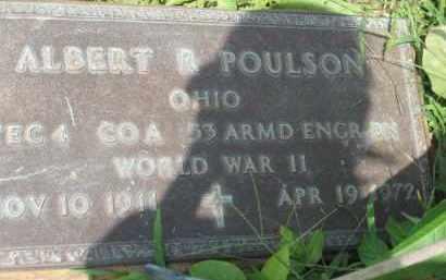 POULSON, ALBERT R. - Holmes County, Ohio | ALBERT R. POULSON - Ohio Gravestone Photos