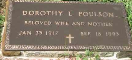 POULSON, DOROTHY L. - Holmes County, Ohio | DOROTHY L. POULSON - Ohio Gravestone Photos