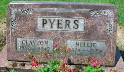 PYERS, NELLIE - Holmes County, Ohio | NELLIE PYERS - Ohio Gravestone Photos