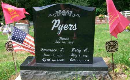 PYERS, BETTY A. - Holmes County, Ohio | BETTY A. PYERS - Ohio Gravestone Photos