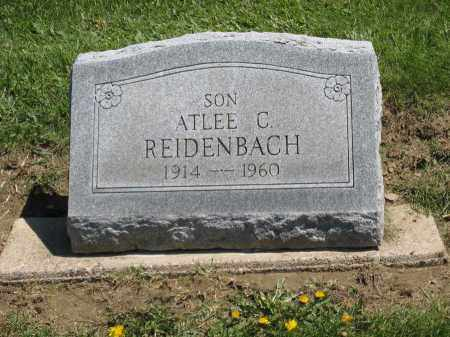 REIDENBACH, ATLEE C. - Holmes County, Ohio | ATLEE C. REIDENBACH - Ohio Gravestone Photos
