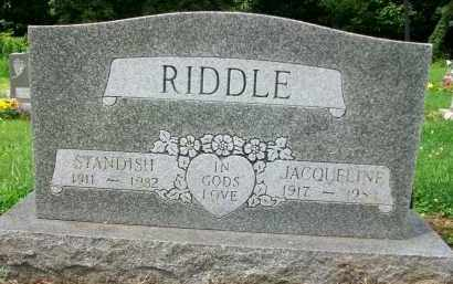 RIDDLE, STANDISH - Holmes County, Ohio | STANDISH RIDDLE - Ohio Gravestone Photos