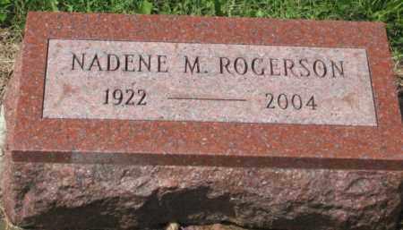 ROGERSON, NADENE M. - Holmes County, Ohio | NADENE M. ROGERSON - Ohio Gravestone Photos