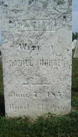 KINGLESPRINGER/GINDELSBERGER R, LYDIA - Holmes County, Ohio | LYDIA KINGLESPRINGER/GINDELSBERGER R - Ohio Gravestone Photos