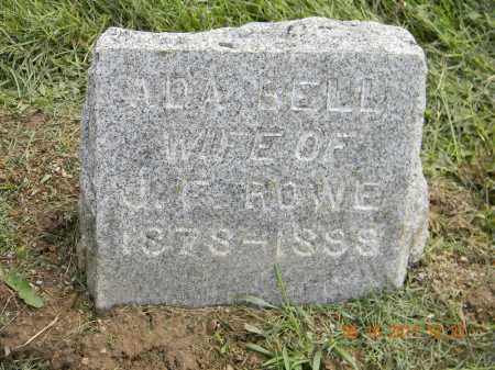 ROWE, ADA BELL - Holmes County, Ohio | ADA BELL ROWE - Ohio Gravestone Photos