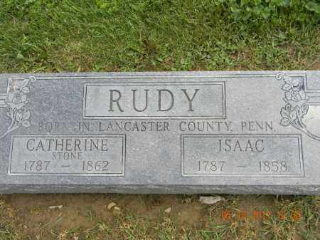 RUDY, CATHERINE - Holmes County, Ohio | CATHERINE RUDY - Ohio Gravestone Photos