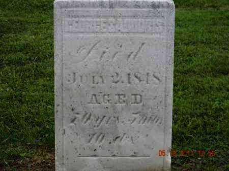 SADODRIS, GEORGE - Holmes County, Ohio | GEORGE SADODRIS - Ohio Gravestone Photos