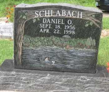 SCHLABACH, DANIEL O. - Holmes County, Ohio | DANIEL O. SCHLABACH - Ohio Gravestone Photos