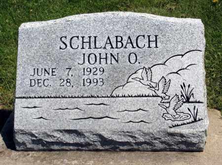 SCHLABACH, JOHN O. - Holmes County, Ohio | JOHN O. SCHLABACH - Ohio Gravestone Photos