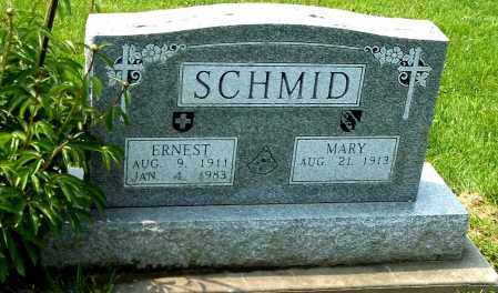 SCHMID, MARY - Holmes County, Ohio | MARY SCHMID - Ohio Gravestone Photos