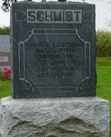 SCHMIDT, AUGUST F. - Holmes County, Ohio | AUGUST F. SCHMIDT - Ohio Gravestone Photos