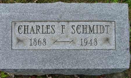 SCHMIDT, CHARLES F. - Holmes County, Ohio | CHARLES F. SCHMIDT - Ohio Gravestone Photos