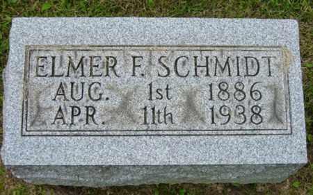 SCHMIDT, ELMER F. - Holmes County, Ohio | ELMER F. SCHMIDT - Ohio Gravestone Photos