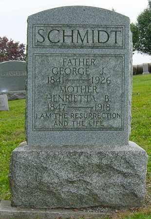 SCHMIDT, GEORGE J. - Holmes County, Ohio | GEORGE J. SCHMIDT - Ohio Gravestone Photos