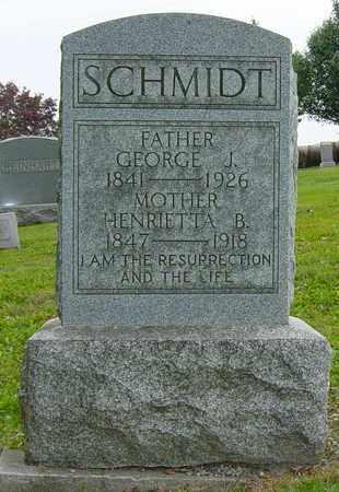 SCHMIDT, HENRIETTA - Holmes County, Ohio | HENRIETTA SCHMIDT - Ohio Gravestone Photos
