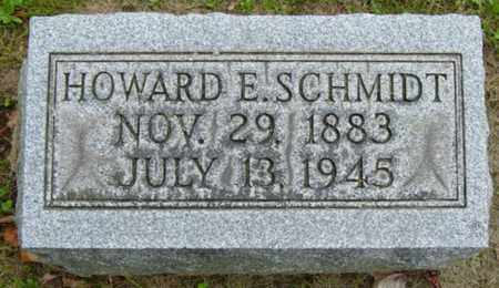 SCHMIDT, HOWARD E. - Holmes County, Ohio | HOWARD E. SCHMIDT - Ohio Gravestone Photos