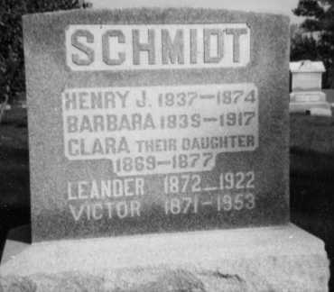 HERNING SCHMIDT, BARBARA - Holmes County, Ohio | BARBARA HERNING SCHMIDT - Ohio Gravestone Photos