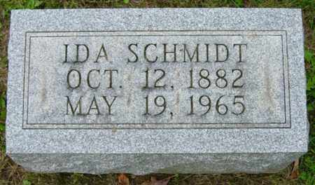 SCHMIDT, IDA - Holmes County, Ohio | IDA SCHMIDT - Ohio Gravestone Photos