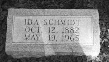 SCHMIDT, IDA - Holmes County, Ohio | IDA SCHMIDT - Ohio Gravestone Photos