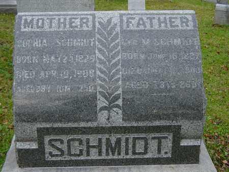 JEANDREVIN SCHMIDT, SOPHIA - Holmes County, Ohio | SOPHIA JEANDREVIN SCHMIDT - Ohio Gravestone Photos