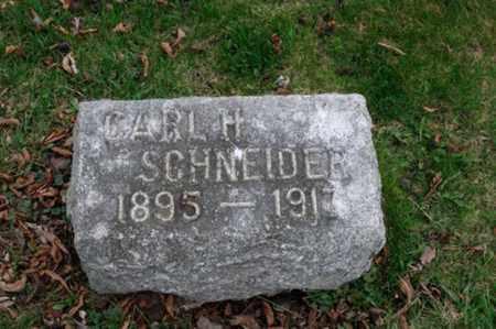 SCHNEIDER, CARL HENRY - Holmes County, Ohio | CARL HENRY SCHNEIDER - Ohio Gravestone Photos