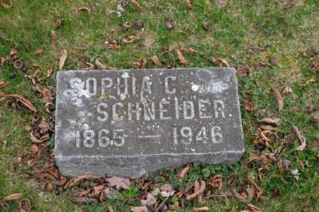 SCHNEIDER, SOPHIA CAROLINE - Holmes County, Ohio | SOPHIA CAROLINE SCHNEIDER - Ohio Gravestone Photos