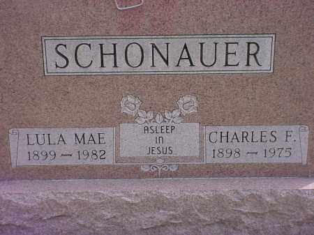 SCHONAUER, LULA MAE - Holmes County, Ohio | LULA MAE SCHONAUER - Ohio Gravestone Photos