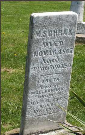 SCHRAK, LORETA - Holmes County, Ohio | LORETA SCHRAK - Ohio Gravestone Photos