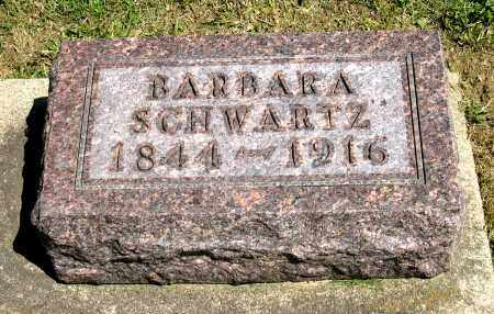 SCHWARTZ, BARBARA - Holmes County, Ohio | BARBARA SCHWARTZ - Ohio Gravestone Photos