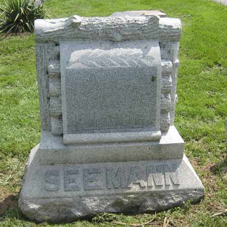 SEEMANN, LARGE LOG - Holmes County, Ohio | LARGE LOG SEEMANN - Ohio Gravestone Photos
