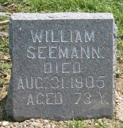 SEEMANN, WILLIAM - Holmes County, Ohio | WILLIAM SEEMANN - Ohio Gravestone Photos