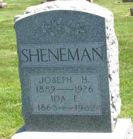 SHENEMAN, IDA E. - Holmes County, Ohio | IDA E. SHENEMAN - Ohio Gravestone Photos