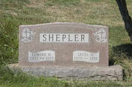 ELLIOTT SHEPLER, LEOTA M. - Holmes County, Ohio | LEOTA M. ELLIOTT SHEPLER - Ohio Gravestone Photos