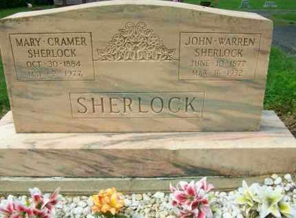 SHERLOCK, JOHN WARREN - Holmes County, Ohio | JOHN WARREN SHERLOCK - Ohio Gravestone Photos
