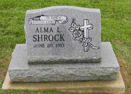 SHROCK, ALMA L. - Holmes County, Ohio | ALMA L. SHROCK - Ohio Gravestone Photos