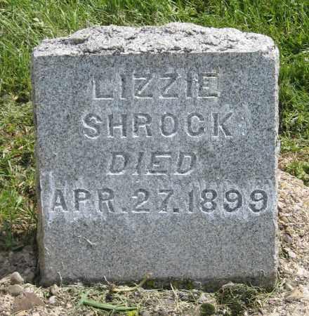 SHROCK, LIZZIE - Holmes County, Ohio | LIZZIE SHROCK - Ohio Gravestone Photos