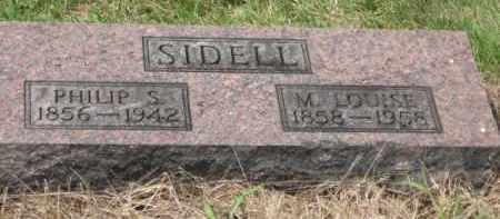 SIDELL, PHILLIP S - Holmes County, Ohio | PHILLIP S SIDELL - Ohio Gravestone Photos
