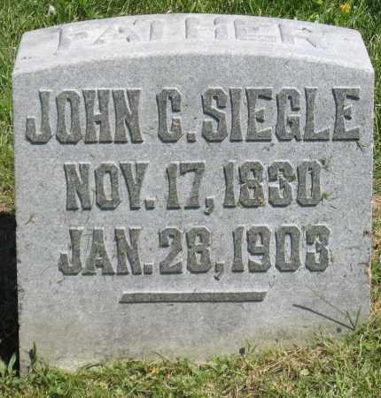 SIEGLE, JOHN C. - Holmes County, Ohio | JOHN C. SIEGLE - Ohio Gravestone Photos