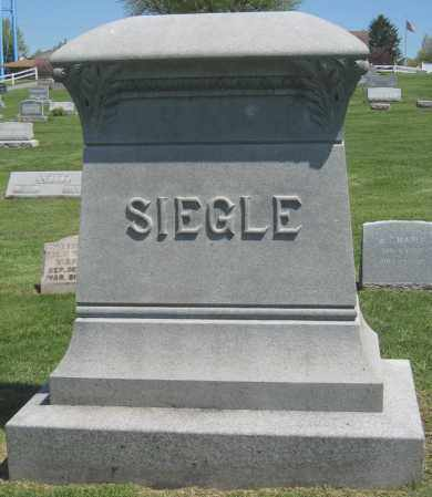 SIEGLE, MONUMENT - Holmes County, Ohio | MONUMENT SIEGLE - Ohio Gravestone Photos