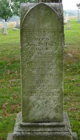 SMITH, CHRISTIAN - Holmes County, Ohio | CHRISTIAN SMITH - Ohio Gravestone Photos