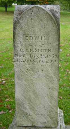 SMITH, EDWIN - Holmes County, Ohio | EDWIN SMITH - Ohio Gravestone Photos