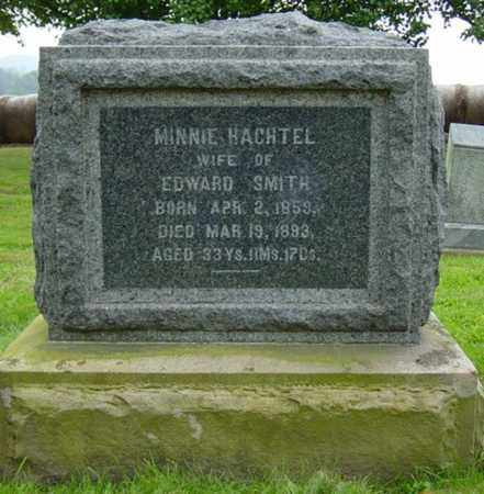HACHTEL SMITH, MINNIE - Holmes County, Ohio | MINNIE HACHTEL SMITH - Ohio Gravestone Photos