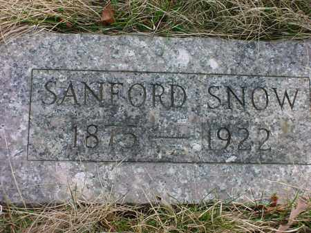 SNOW, SANFORD N. - Holmes County, Ohio | SANFORD N. SNOW - Ohio Gravestone Photos