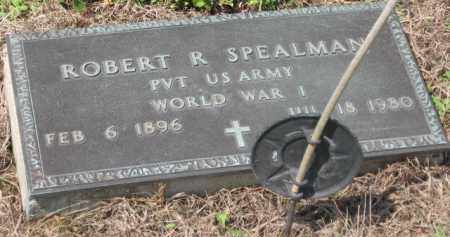SPEALMAN, ROBERT R. - Holmes County, Ohio | ROBERT R. SPEALMAN - Ohio Gravestone Photos