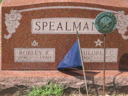 SPEALMAN, ROBLEY R. - Holmes County, Ohio | ROBLEY R. SPEALMAN - Ohio Gravestone Photos