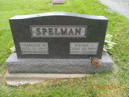 SPELMAN, WAYNE J. - Holmes County, Ohio | WAYNE J. SPELMAN - Ohio Gravestone Photos