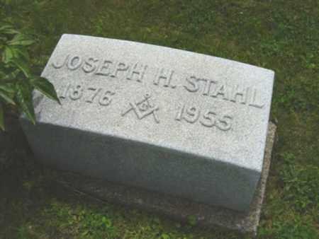 STAHL, JOSEPH H. - Holmes County, Ohio | JOSEPH H. STAHL - Ohio Gravestone Photos